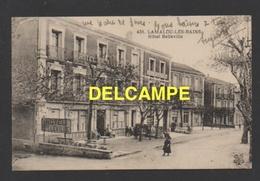 """DF / 34 HERAULT / LAMALOU LES BAINS / HÔTEL BELLEVILLE ET MAGASIN """" A LA POMME D'OR """" / ANIMÉE - Lamalou Les Bains"""