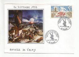 OBLITERATION BICENTENAIRE REVOLUTION - BATAILLE DE VALMY - French Revolution
