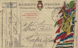 FRANCHIGIA POSTA MILITARE  3 1918 RIESE PIO X X ISCHIA DI CASTRO - 1900-44 Vittorio Emanuele III