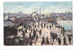 17863 -  Constantinople Le Pont De Galata 1908 - Turquie