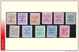 Belgium PRE747/57** 1964 -MNH- - Préoblitérés
