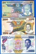 Tanzanie  7  Billets - Tanzania