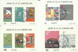 MEXICO, H/B OLIMPIADAS - Verano 1968: México