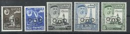 QATAR YVERT  42/46    MNH  ** - Qatar