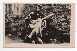 - ARGENTINA - CPA PHOTO écrite GAUCHO (superbe Gros Plan à La Guitare) - - Argentine