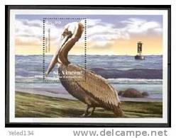 ST.VINCENT   3020 MINT NEVER HINGED SOUVENIR SHEET OF BIRDS   #  1164-3   ( - Birds