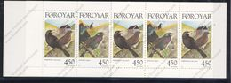 Féroé (Iles), Yvert 324&325+carnet 324, Scott 330&331+full Booklet, MNH - Féroé (Iles)
