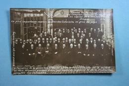 Avis De Passage Personnel Du Comptoir Commercial De Dinant Ste-Barbe 1922 - Dinant
