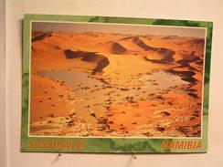 Sossusvlei - Vue Aérienne .... - Namibie
