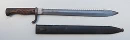 BAIONNETTE ALLEMANDE 98/05 2me Type Scie - Armes Blanches