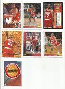BASKETBALL NBA LOT DE CARTES HOUSTON ROCKETS - Lots