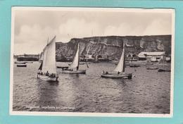 Old Postcard Of Sail Boats,Heligoland, Schleswig-Holstein, Germany.,V24. - Helgoland