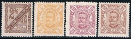 S. Tomé, 1893/5, # 30/3, MH And MHNG - St. Thomas & Prince