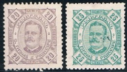 S. Tomé, 1893/5, # 34/5, MH - St. Thomas & Prince
