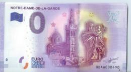 2016 BILLET TOURISTIQUE 0euros   Marseille Notre -dame -de- La -garde   Dpt 13         Port 1.20 - EURO