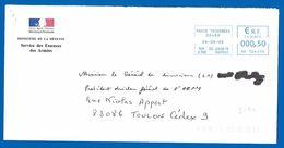 EMA 00480 PARIS TRIARMEES (2790) Service Des Essences Des Armées - 06 Août 2008 - Cachets Militaires A Partir De 1900 (hors Guerres)