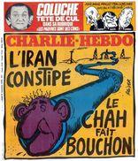 CHARLIE HEBDO 1979 N°471 Coluche Iran  Le Chah - Libros, Revistas, Cómics