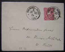 1878 Freiburg I Baden  (deutsches Reich) - Baden