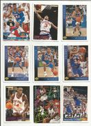 BASKETBALL NBA LOT DE CARTES NEW YORK KNICKS - Trading-Karten