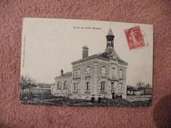 A444. CPA. 78.  Ecole De SAINT-BENOIT.   Beau Plan Animé. écrite & Voyagée 1909 - Auffargis