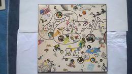 Led Zeppelin 3 Disque NM Pochette EX Label Atlantic Pressage SD7201 USA - Rock