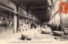 CPA -    LA FERTE  SOUS  JOUARRE  (77)  Chantiers De La Société Générale Meulière - La Ferte Sous Jouarre
