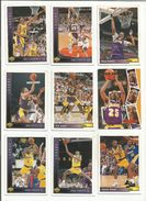 BASKETBALL NBA LOT DE CARTES LOS ANGELES LAKERS - Trading Cards