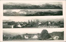 AK Kempten Leubas, Mehrbildkarte, O Um 1950 (24401) - Kempten