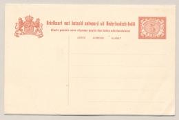 Nederlands Indië - 1913 - 5+5 Cent Cijfer Vürtheim, Briefkaart G18, Ongebruikt  - H&G 18 - Nederlands-Indië