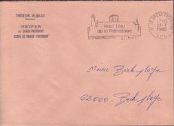 ENVELOPPE 1985 LE GRAND PRESSIGNY - 1961-....