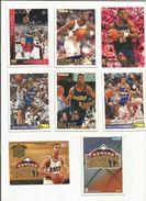 BASKETBALL NBA LOT DE CARTES DENVERS NUGGETS - Trading Cards