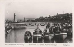 CPSM ESPAGNE SANTURCE EL PUERTO PENTE VIZCAYA - Spanien