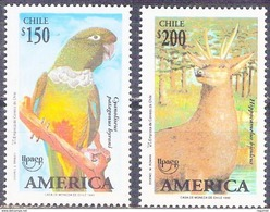 Chile 1182/1183 ** MNH. 1993 - Chile