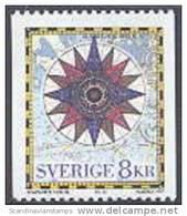 Zweden 1997 8kr Kompasroos PF-MNH-NEUF - Suecia