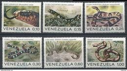 Venezuela 0852/857 ** MNH. 1972 - Venezuela