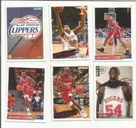 BASKETBALL NBA LOT DE CARTES LOS ANGELES CLIPPERS - Trading-Karten