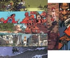 Serie De 7 Marque Page BD De GRANIT Par LOISEL Pour Peter Pan - Marque-pages