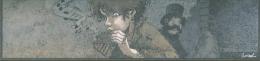 Marque Page BD De GRANIT Par LOISEL Pour Peter Pan (joueur De Flute) Papier A Grain - Marque-pages