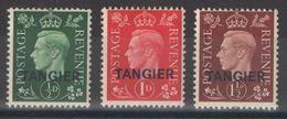 Maroc - Bureaux Anglais - Tangier - Tanger - YT 5-7 ** - Morocco Agencies / Tangier (...-1958)