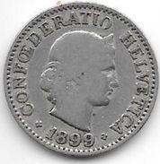 *switzerland 10 Rappen 1899  Km 27  Look !!!! - Suisse