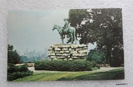 USA Kansas - THE SCOUT -  Penn Valley Park -  Statue By Cyrus Edwin  Dallin  - Horse - Kansas City – Kansas