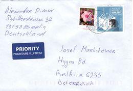 Auslands - Brief Von 13158 Berlin - Wilhelmsruh Mit 90 Cent Mischfrankatur August Schlegel 2017 - BRD