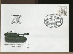 Ganzsachen - Umschläge - Ungebraucht- LAHNSTEIN - PANZER ARTILLERIE BATAILLON 145 - [7] República Federal