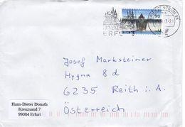 Auslands - Brief Von Briefzentrum 99 Mit 90 Cent 2017 - BRD