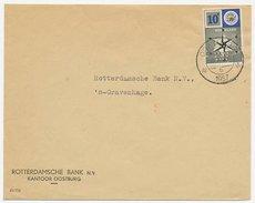 Perfin Verhoeven 519 - N.B.V. - Oostburg 1957 - Periode 1891-1948 (Wilhelmina)