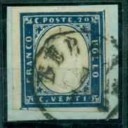 Italien / Sardinien. König Victor Emanuel II., Nr. 12 A Auf Briefstück - Sardinien