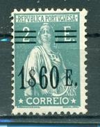 Portugal. Ceres Mit Neuem Wertaufdruck Nr. 505 Falz * - 1910-... Republik
