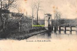 CPA DENDERMONDE TERMONDE  LA PORTE DE BRUXELLES - Dendermonde