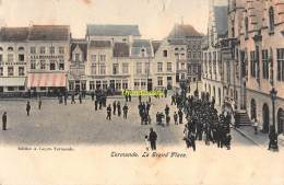 CPA DENDERMONDE TERMONDE  LA GRAND PLACE - Dendermonde