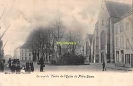 CPA DENDERMONDE TERMONDE PLAINE DE L'EGLISE DE NOTRE DAME - Dendermonde